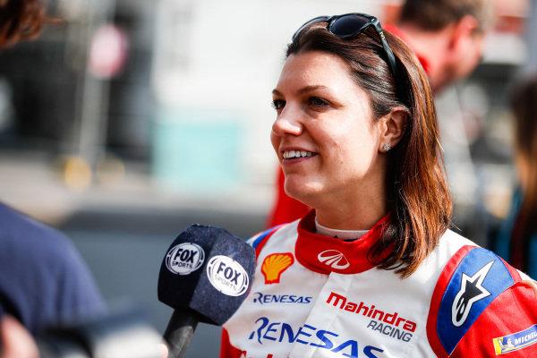 Katherine Legge (GBR), Mahindra Racing