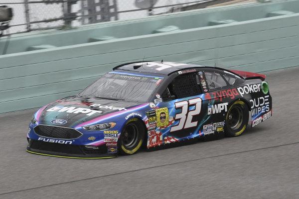 #32: Matt DiBenedetto, Go FAS Racing, Ford Fusion Zynga Poker