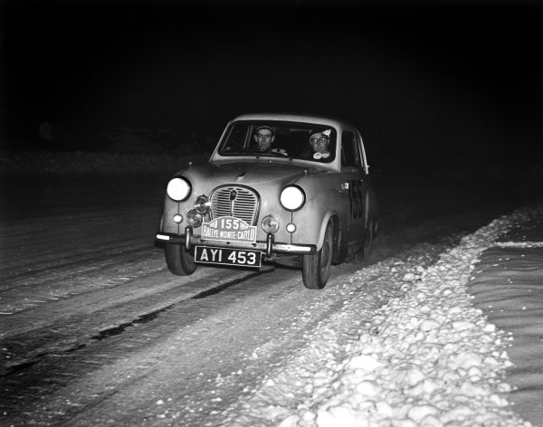 1958 Monte Carlo Rally.