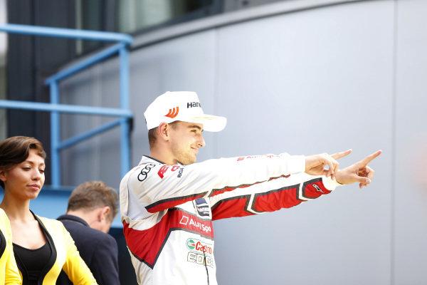 Podium: Nico Müller, Audi Sport Team Abt Sportsline.