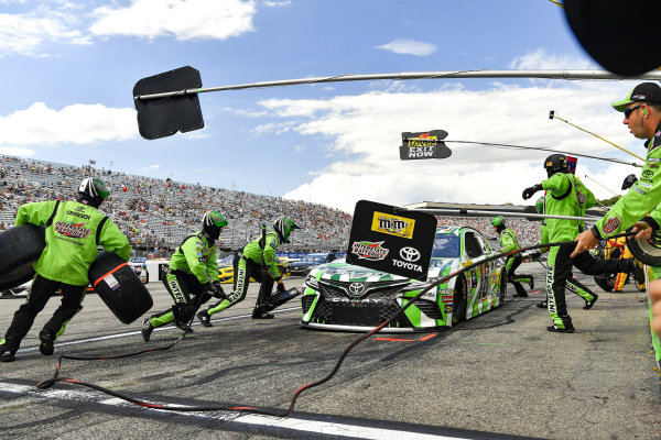 #18: Kyle Busch, Joe Gibbs Racing, Toyota Camry M&M's Interstate Batteries