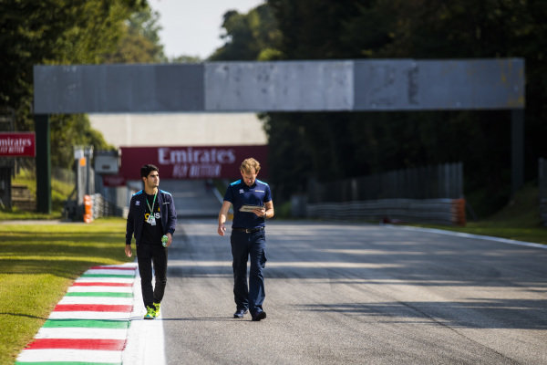 AUTODROMO NAZIONALE MONZA, ITALY - SEPTEMBER 05: Sergio Sette Camara (BRA, DAMS) during the Monza at Autodromo Nazionale Monza on September 05, 2019 in Autodromo Nazionale Monza, Italy. (Photo by Sam Bloxham / LAT Images / FIA F2 Championship)