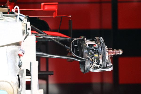 Ferrari SF1000 brake technical detail