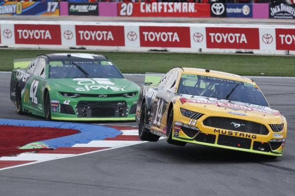 #14: Clint Bowyer, Stewart-Haas Racing, Ford Mustang Rush / Cummins