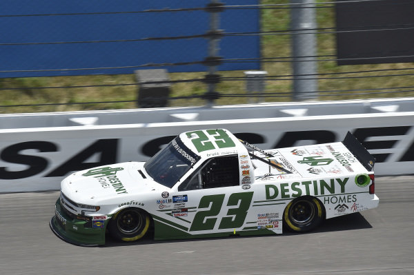 #23: Brett Moffitt, GMS Racing, Destiny Homes Chevrolet Silverado