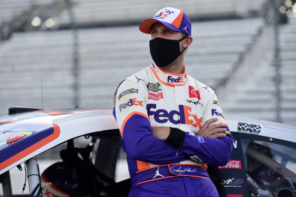 Denny Hamlin, Joe Gibbs Racing Toyota FedEx Freight, Copyright: Jared C. Tilton/Getty Images.