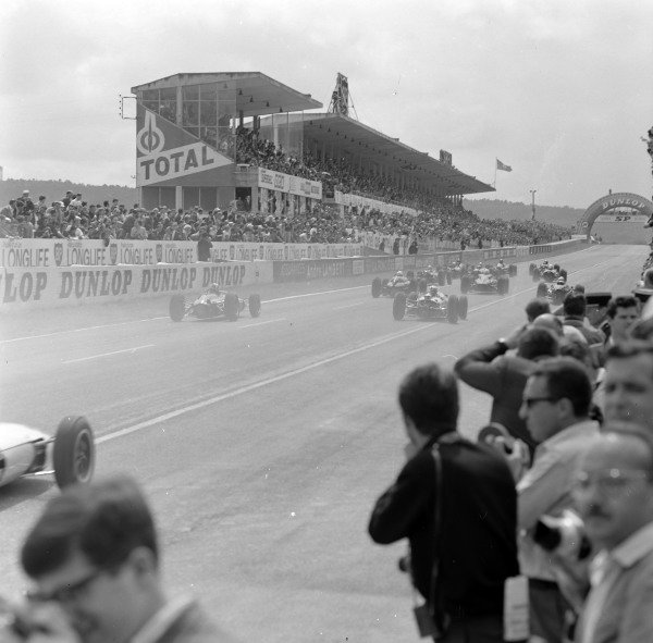 The start of the race.
