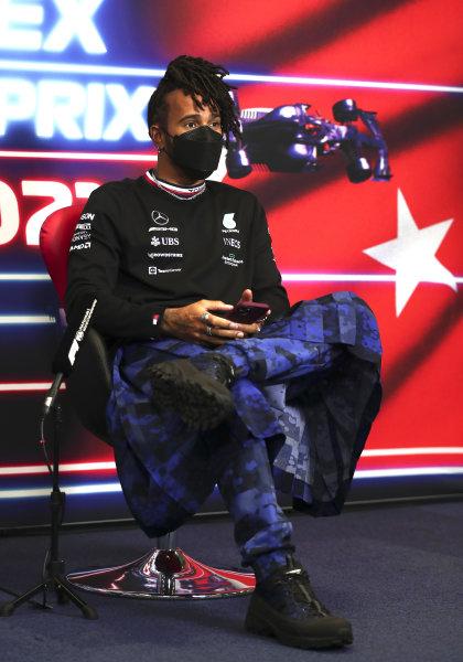 Sir Lewis Hamilton, Mercedes press conference