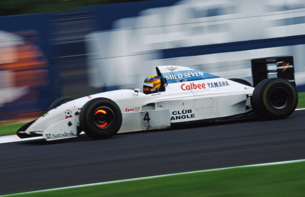 Mark Blundell, Tyrrell 022 Yamaha.