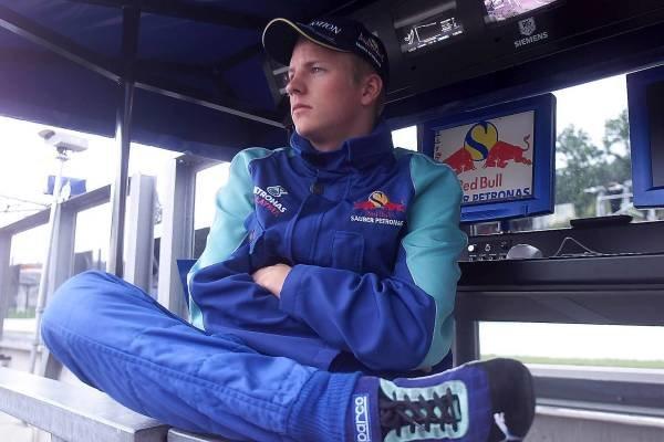 Kimi Raikkonen(FIN)  Belgian Grand Prix Qualifying, Spa Francorchamps 1 September 2001 DIGITAL IMAGE