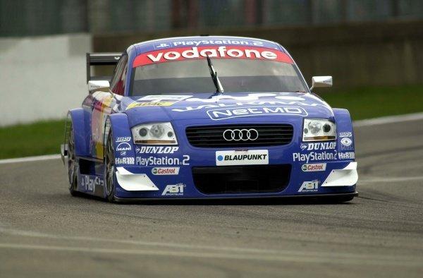 Karl Wendlinger (AUT) Abt Sportsline Audi TT-R.German Touring Car Championship, Rd2, Zolder, Belgium. 5 May 2002.DIGITAL IMAGEpress