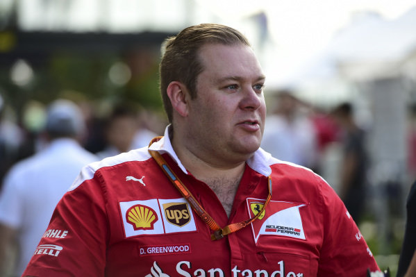 Dave Greenwood (GBR) Ferrari Engineer at Formula One World Championship, Rd1, Australian Grand Prix, Preparations, Albert Park, Melbourne, Australia, Thursday 17 March 2016.
