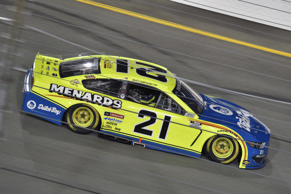 #21: Matt DiBenedetto, Wood Brothers Racing, Ford Mustang Menards/Dutch Boy