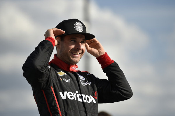 Will Power, Team Penske Chevrolet in victory lane