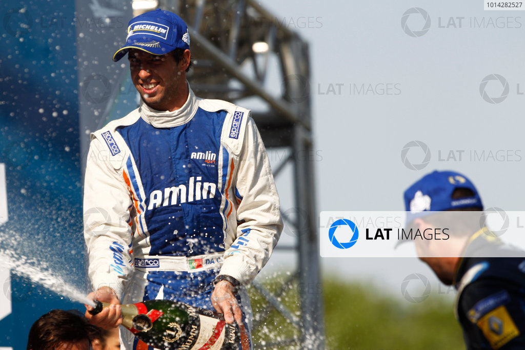 2014 Formula E  Buenos Aires e-Prix, Argentina Saturday 10 January 2015. Antonio Felix Da Costa (POR)/Amlin Aguri - Spark-Renault SRT_01E  Photo: Sam Bloxham/LAT/Formula E ref: Digital Image _G7C8188