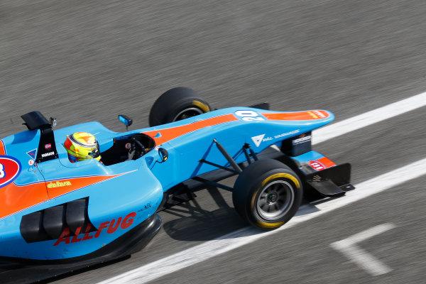 2014 GP3 Series Test 1. Estoril, Portugal.  Thursday 19 March 2015. Pal Varhaug (NOR, Jenzer Motorsport)  Photo: Sam Bloxham/GP3 Series Media Service. ref: Digital Image _SBL0734
