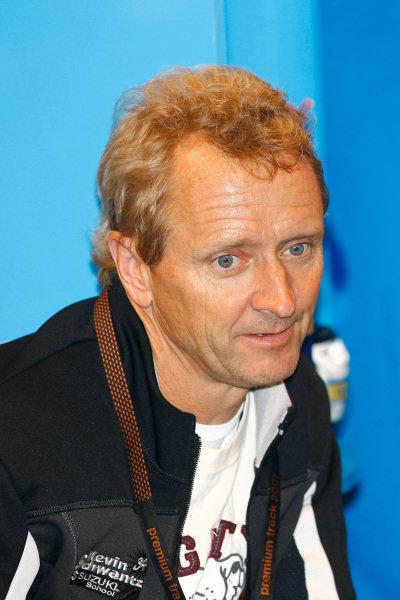 Kevin Schwantz (USA) MotoGP, Rd9, A-Style TT Assen, Assen, Holland, 28-30 June 2007.
