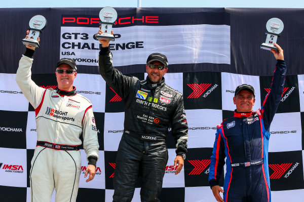 10-12 July 2015, Bowmanville, Ontario Canada Race 1, GT3 Cup USA, Platinum Masters Podium ?2015, Jake Galstad LAT Photo USA
