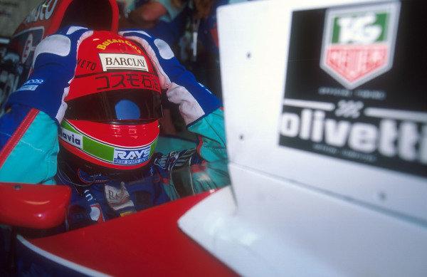 1993 Australian Grand Prix.Adelaide, Australia.5-7 November 1993.Eddie Irvine (Jordan 193 Hart). He exited the race after he slid off under braking.Ref-93 AUS 27.World Copyright - LAT Photographic