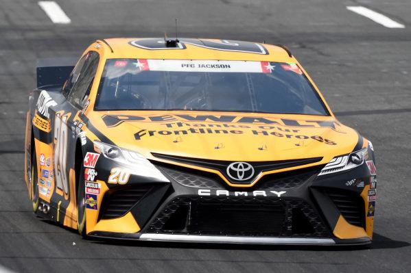 Erik Jones, Joe Gibbs Racing Toyota DEWALT Atomic Thank You, Copyright: Jared C. Tilton/Getty Images.