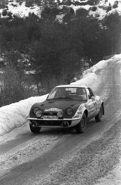 Henri Greder / Jean-Claude Perramond, Opel GT.