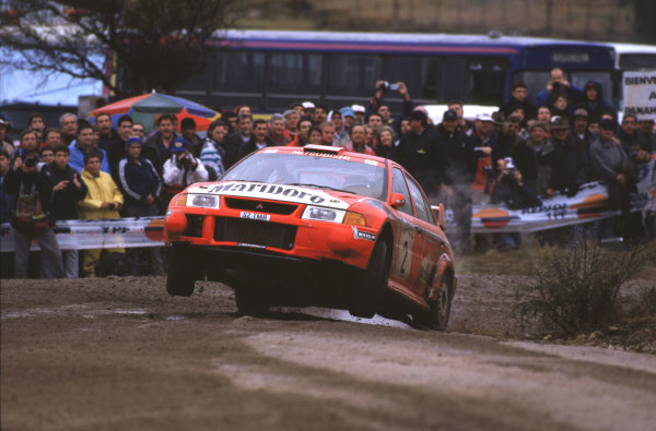 FIA World Rally Champs Rally Argentina. 11th-14th May 2000 Freddy Loix and Sven Smeets-Mitsubushi. World Copyright - LAT Photographic