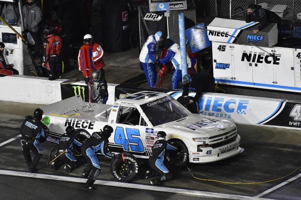 #45: Brett Moffitt, Niece Motorsports, Chevrolet Silverado