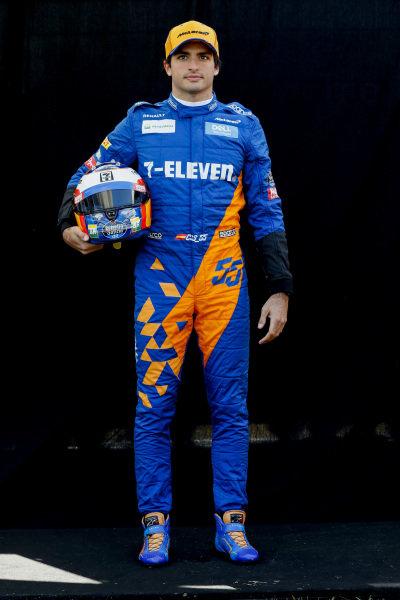 Official Portrait Carlos Sainz Jr, McLaren