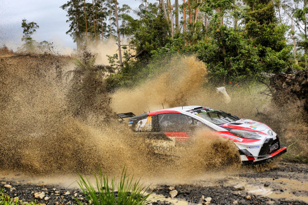 Esapekka Lappi (FIN) / Janne Ferm (FIN), Toyota Gazoo Racing WRT Toyota Yaris WRC at World Rally Championship, Rd13, Rally Australia, Day One, Coffs Harbour, New South Wales, Australia, 17 November 2017.