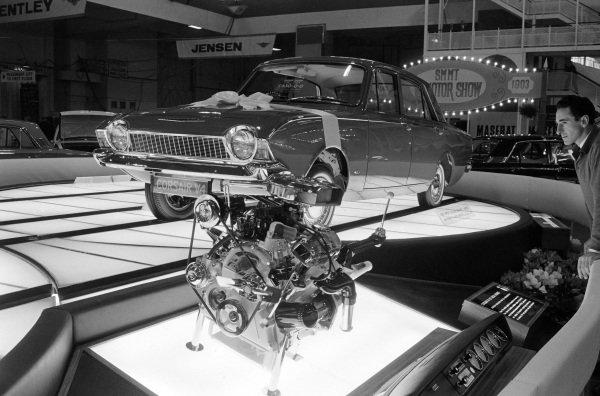 Ford Corsair V4 engine