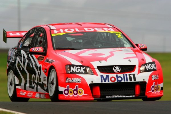 Mark Skaife (Aust) HRT Commodore won the round and became broke the record for rd wins set by Peter Brock