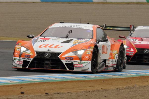 Kazuki Nakajima & Yuhi Sekiguchi, Lexus Team au TOM'S LC500, third place in GT500