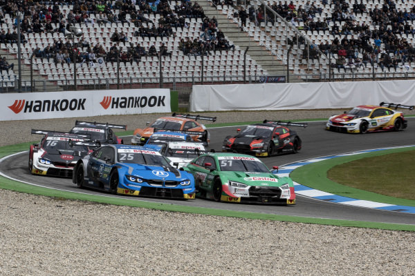 Re-Start, Philipp Eng, BMW Team RBM, BMW M4 DTM, Nico Müller, Audi Sport Team Abt Sportsline, Audi RS 5 DTM