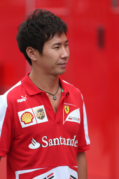 Kamui Kobayashi (JPN). Formula One World Championship, Rd12, Italian Grand Prix, Race, Monza, Italy, Sunday 8 September 2013.