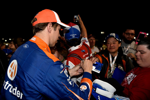 2017 Monster Energy NASCAR Cup Series - Fold of Honor QuikTrip 500 Atlanta Motor Speedway, Hampton, GA USA Sunday 5 March 2017 Brad Keselowski World Copyright: Rusty Jarrett/LAT Images ref: Digital Image 17ATL1rj_2914