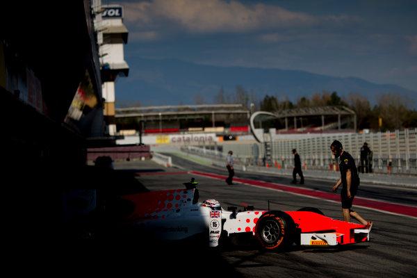 Circuit de Barcelona Catalunya, Barcelona, Spain. Monday 13 March 2017. Jordan King (GBR, MP Motorsport).  Photo: Alastair Staley/FIA Formula 2 ref: Digital Image 580A9833