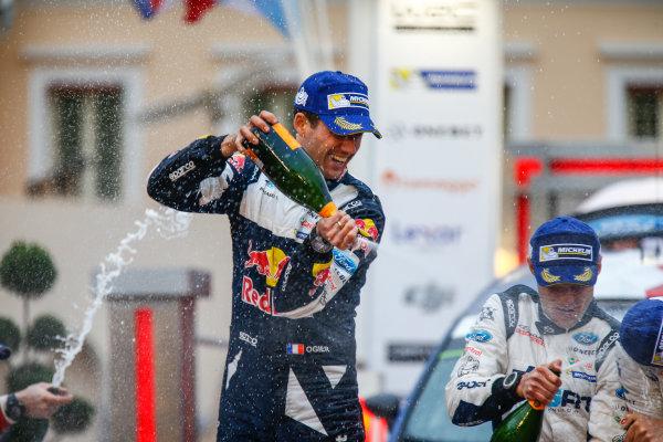 2017 FIA World Rally Championship, Round 01, Rally Monte Carlo, January 18-22, 2017, Sebastien Ogier, Ford, Podium, Worldwide Copyright: McKlein/LAT