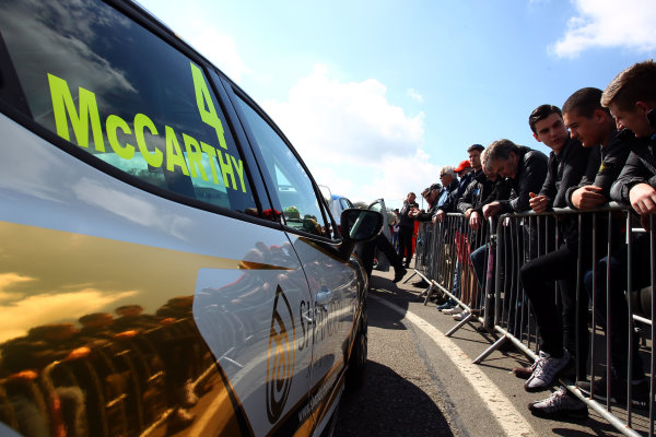 2017 Renault Clio Cup Brands Hatch, 1st-2nd April 2017 Jack McCarthy  World Copyright. JEP/LAT Images