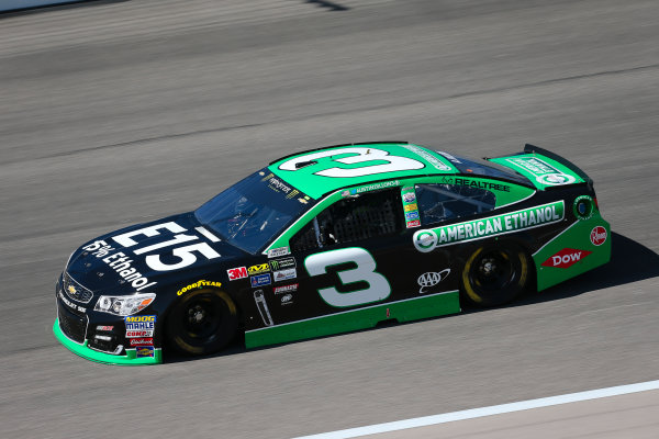 Monster Energy NASCAR Cup Series Go Bowling 400 Kansas Speedway, Kansas City, KS USA Friday 12 May 2017 Austin Dillon, Richard Childress Racing, American Ethanol Chevrolet SS World Copyright: Barry Cantrell LAT Images ref: Digital Image 17KAN1bc1056