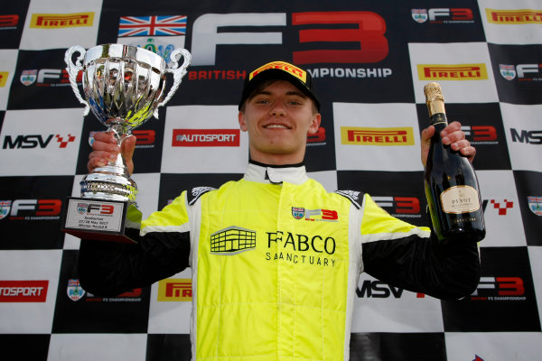 2017 BRDC British Formula 3 Championship, Snetterton, 27th-28th May 2017, Jordan Cane (GBR) Douglas Racing BRDC F3 World copyright. JEP/LAT Images