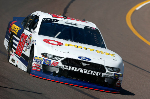 NASCAR Xfinity Series DC Solar 200 ISM Raceway, Phoenix, AZ USA Friday 9 March 2018 Austin Cindric, Roush Fenway Racing, Ford Mustang Pirtek World Copyright: Matthew T. Thacker NKP / LAT Images
