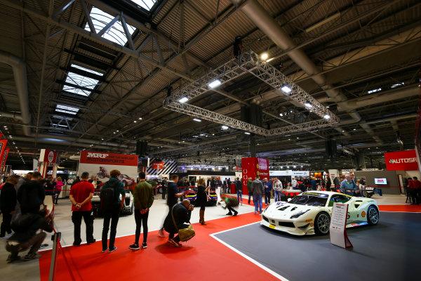 Autosport International Exhibition. National Exhibition Centre, Birmingham, UK. Sunday 14th January, 2018. The Ferrari stand.World Copyright: Mike Hoyer/JEP/LAT Images Ref: AQ2Y9574