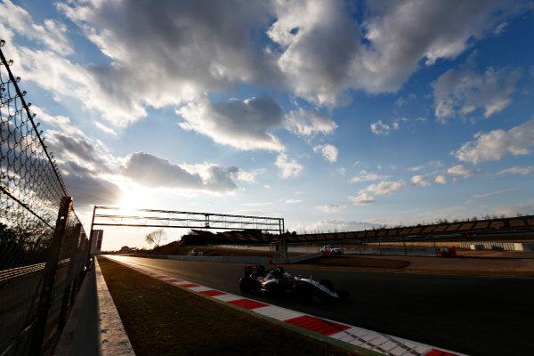 Circuit de Catalunya, Barcelona, Spain Thursday 25 February 2016. Alfonso Celis, Force India VJM09 Mercedes. World Copyright: Sam Bloxham/LAT Photographic ref: Digital Image _SBL8623