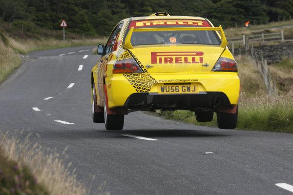Manx International Rally 2008, 17th-19th July 2008Darren Gass/Neil Shanks Mitsubishi Evo 9World Copyright: Ebrey/LAT Photographic