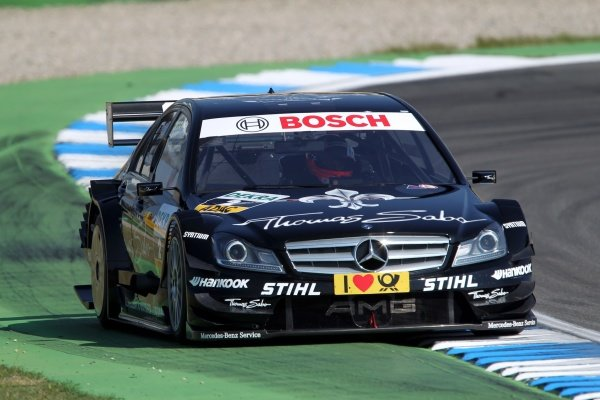 Gary Paffett (GBR), Thomas Sabo AMG Mercedes. DTM, Rd1, Hockenheim, Germany, 29 Apr - 1 May 2011.