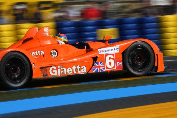 Circuit de La Sarthe, Le Mans, France.8th - 14th June 2009. Richard Dean/Nigel Moore/Lawrence Tomlinson, No 6 Team LNT Ginetta-Zytek GZ09S. Action. World Copyright: Kevin Wood/LAT Photographic Photographic Ref: IMG_4285 JPG