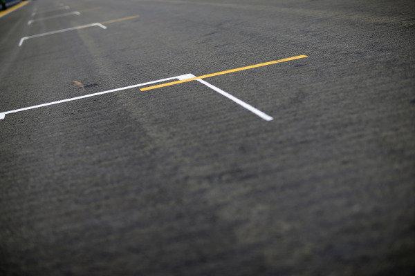 Marina Bay Circuit, Singapore. Thursday 18 September 2014. Track detail. World Copyright: Alastair Staley/LAT Photographic. ref: Digital Image _R6T6597