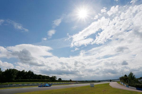 FIA Formula E Test Day, Donington Park, UK.  3rd - 4th July 2014.  Amlin Aguri. Photo: Zak Mauger/FIA Formula E ref: Digital Image _L0U5180