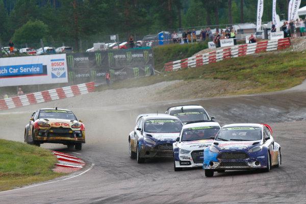 2014 FIA World Rallycross Championship Round 05 H?ljes, Sweden 5th & 6th July 2014 Sebastian Eriksson, Ford, action Worldwide Copyright: McKlein/LAT