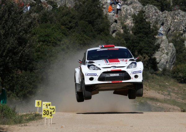 Round 05-Rally Italia Sardegna. 05th-08th May 2011.Ott Tanak, Ford S2000, Action.Worldwide Copyright: McKlein/LAT